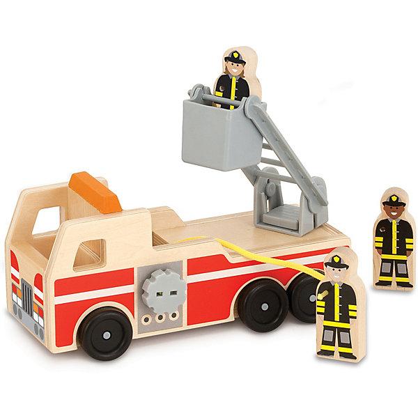 """Пожарная машина Melissa & Doug """"Классические игрушки""""   11154289"""