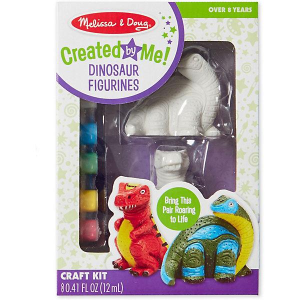 Купить Набор Melissa & Doug Творчество , Разукрась фигурку динозавра, Китай, Унисекс