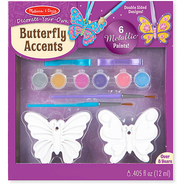 "Создай игрушки Melissa & Doug ""Творчество"", Бабочки"