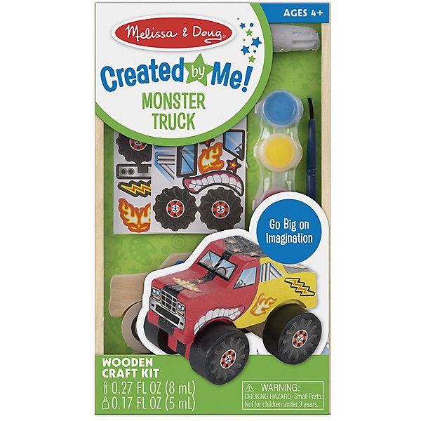 Купить Деревянный грузовик-монстр Melissa & Doug Классические игрушки , Китай, Мужской