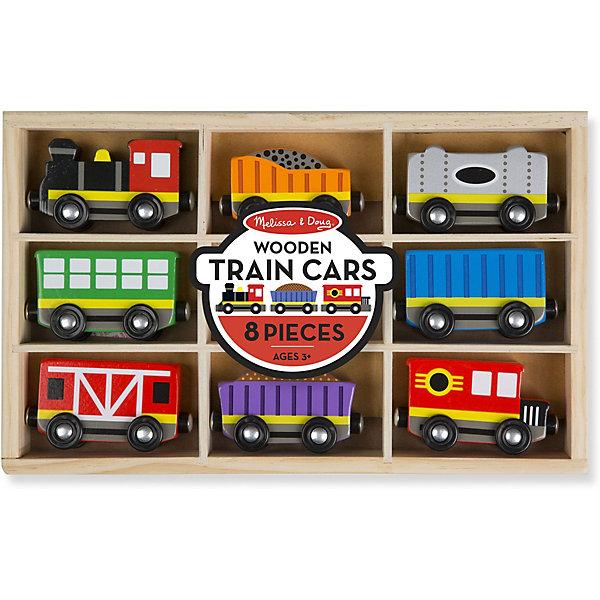 """Набор вагончиков Melissa & Doug """"Деревянные игрушки"""""""