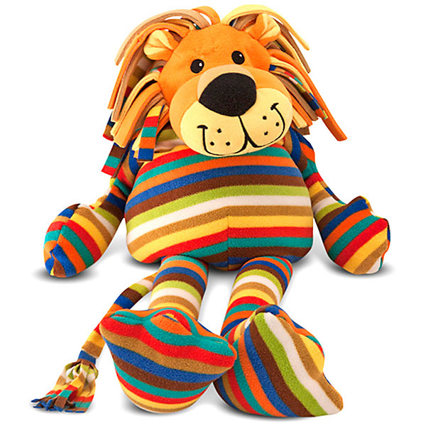 Melissa & Doug Мягкая игрушка Melissa & Doug, Лев абвгдейка мягкая игрушка лев 40 см