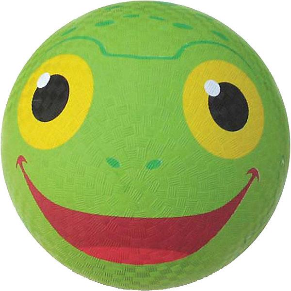 Мяч Melissa & Doug Sunny Patch, ЛягушкаИгровые мячи<br>Характеристики:<br><br>? материал: резина<br>? диаметр: 25 см <br>? упаковка: картонная коробка<br><br>Мяч выполнен из прочной резины и имеет крепкую камеру, а потому отлично подходит не только для игр в помещении, но и для улицы.