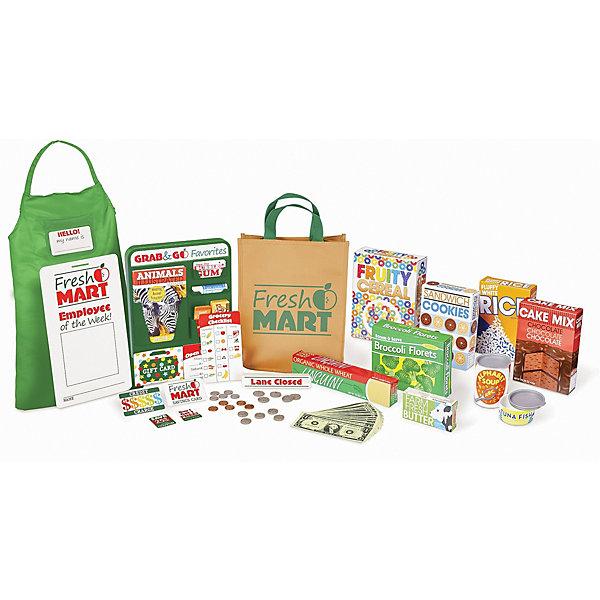 Melissa & Doug Набор покупок Готовь и играй, Супермаркет
