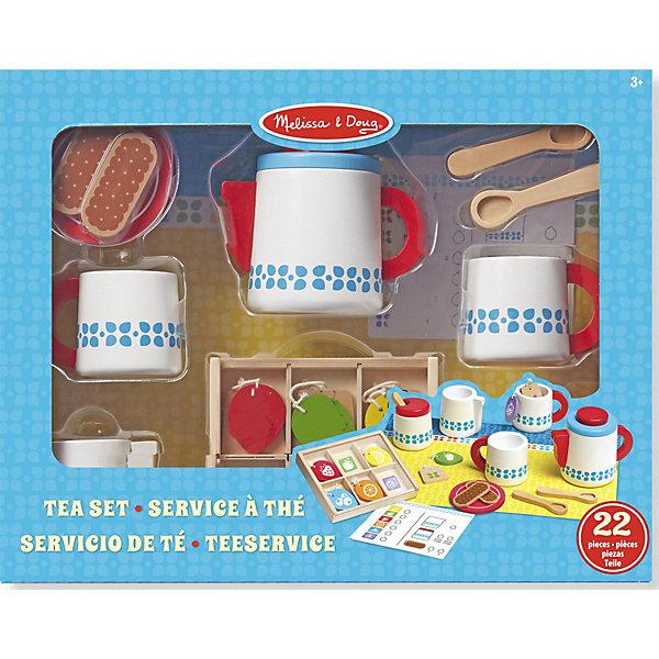 Melissa & Doug Набор для чаепития Готовь и играй
