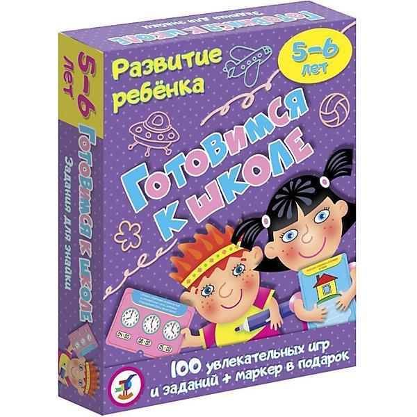 Дрофа-Медиа Карточная игра Развитие ребенка Готовимся к школе