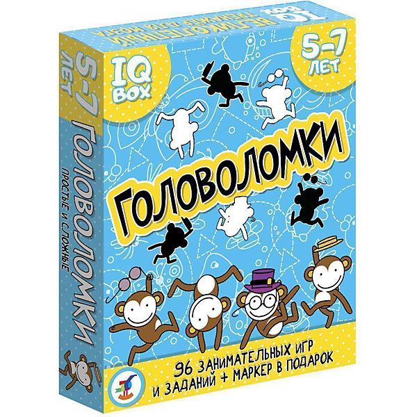 Дрофа-Медиа Карточная игра IQ Box Головоломки: 5-7 лет