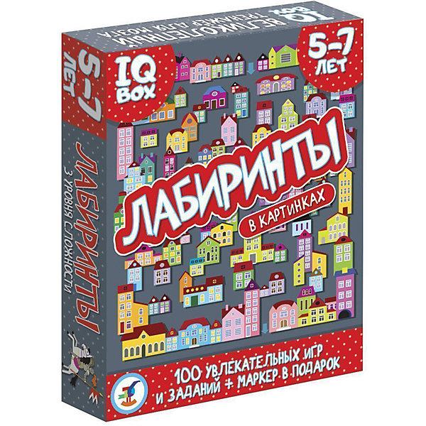 Дрофа-Медиа Карточная игра IQ Box Лабиринты: 5-7 лет