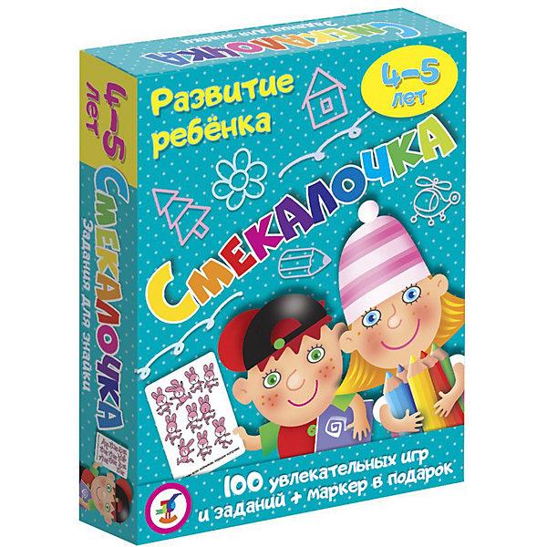 Дрофа-Медиа Карточная игра Развитие ребенка Смекалочка