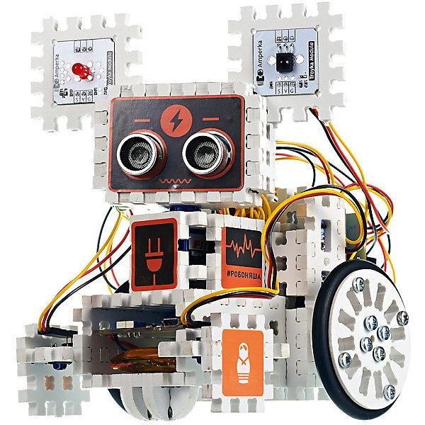 Амперка Электронный конструктор Амперка «Робоняша» продолжение набора «Йодо» амперка набор йодо амперка