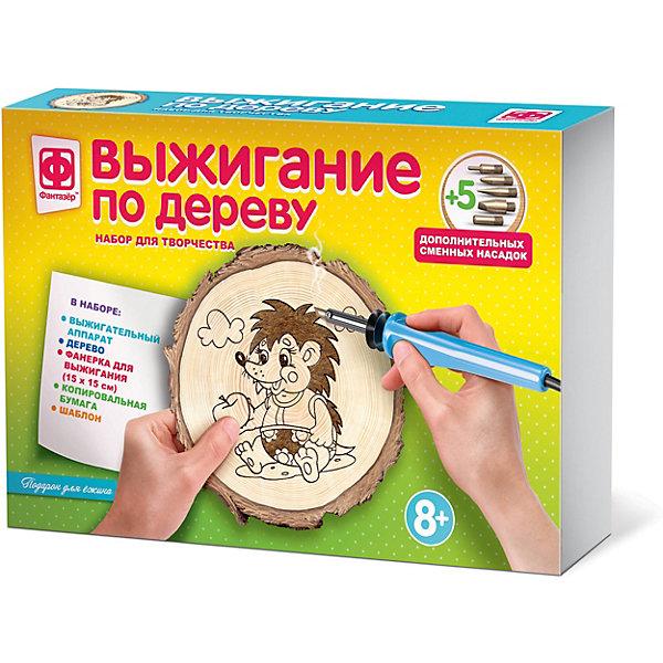 Купить Набор для выжигания Фантазер «Подарок для ежика», Россия, разноцветный, Унисекс