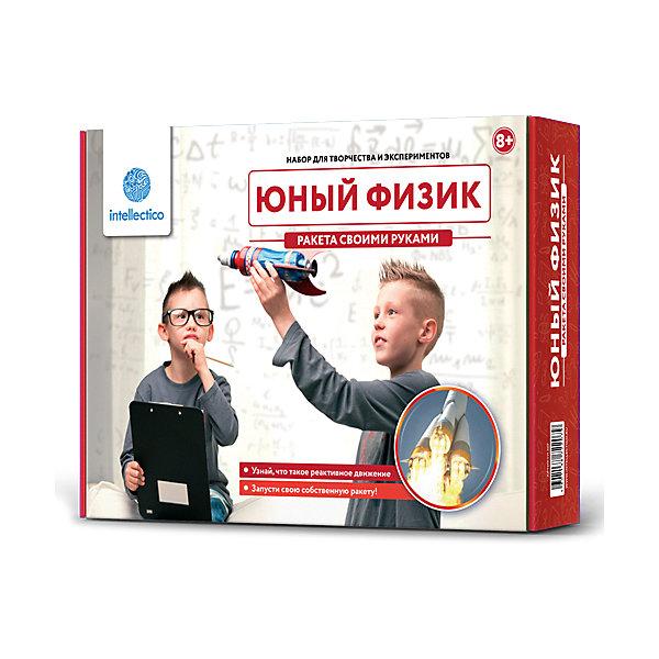 Купить Набор для опытов Intellectico «Юный Физик. Ракета своими руками», Россия, Унисекс
