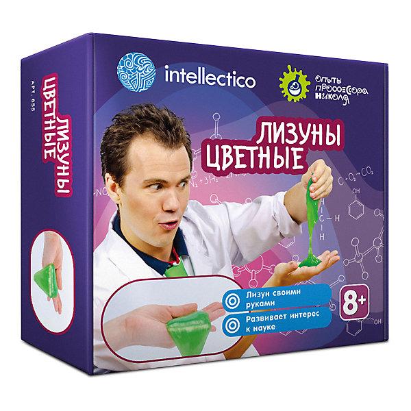 Набор Intellectico «Опыты профессора Николя. Лизуны цветные» 11160423