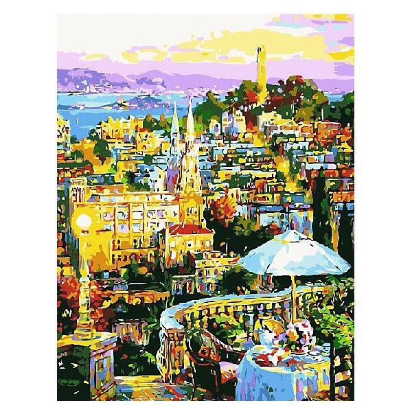 Color KIT Картина по номерам Атмосферное кафе