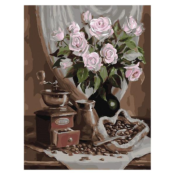 Color KIT Картина по номерам Кофейный натюрморт