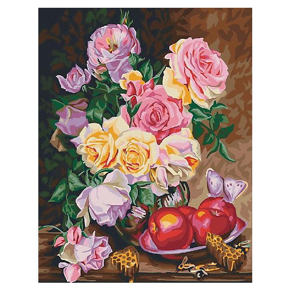 Картина по номерам Color KIT Натюрморт с яблокамиКартины по номерам<br>Характеристики:<br><br>• материал: текстиль, акрил, пластик<br>• в комплекте: холст, краски, кисти, контрольный лист, крепеж<br>• страна бренда: Россия<br><br>Красивая картина обязательно порадует всех творческих людей. Раскрашивание по номерам подарит время приятного досуга, а готовое изображение станет отличным дополнением интерьера. Холст находится на подрамнике и имеет пронумерованную схему, которую нужно раскрасить соответствующими красками, не требующими смешивания.
