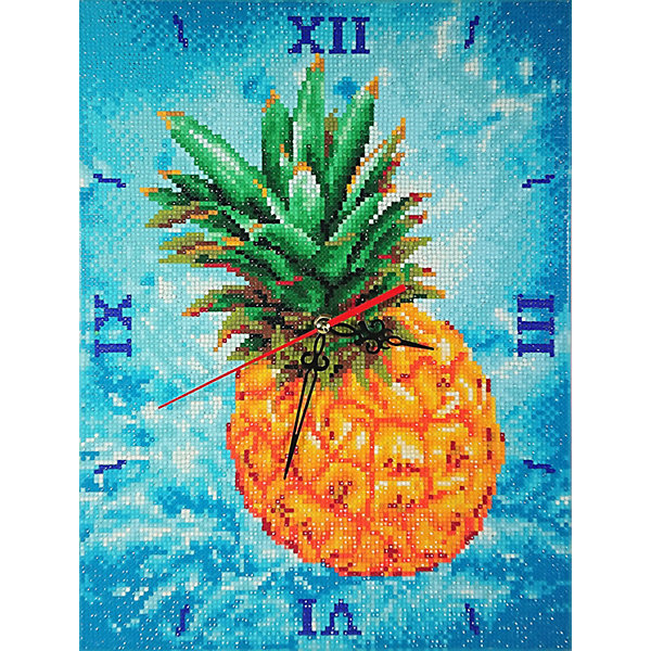 Color KIT Алмазные часы Color KIT Сочный ананас