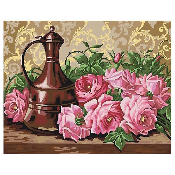 Color KIT Картина по номерам Аромат роз