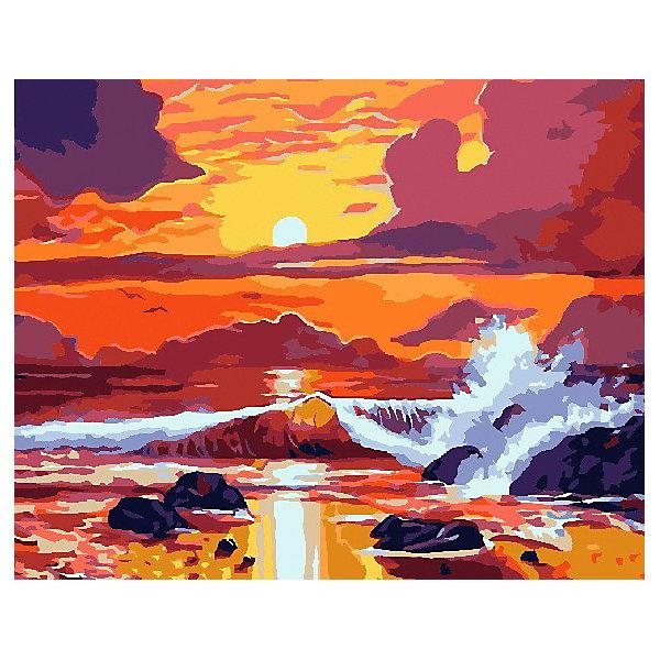 Color KIT Картина по номерам Бушующее море