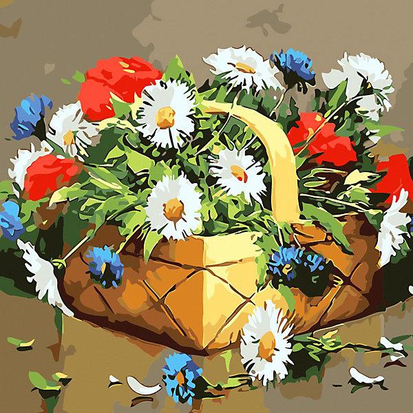 Color KIT Открытка по номерам Лукошко с сюрпризом