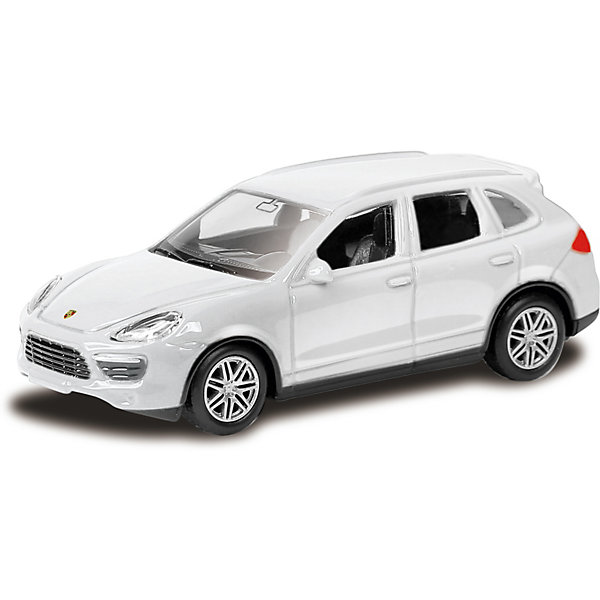 Купить Модель автомобиля Uni-Fortune Porsche Cayenne Turbo, 1:66, белый, Uni Fortune, Китай, Унисекс