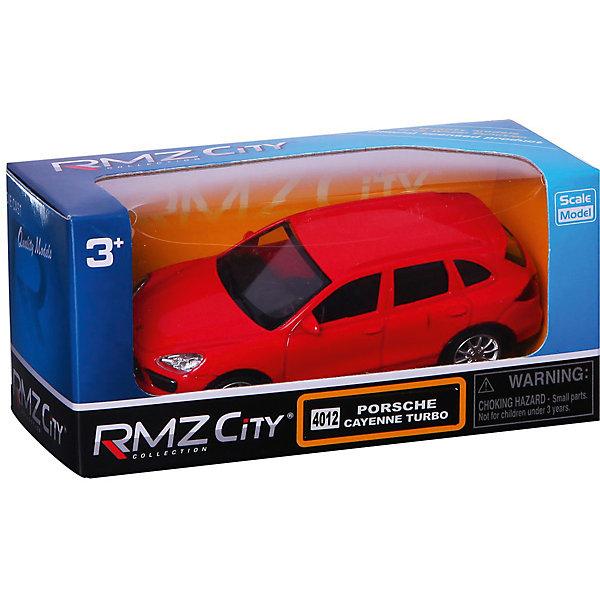 Купить Модель автомобиля Uni-Fortune Porsche Cayenne Turbo, 1:66, красный, Uni Fortune, Китай, Унисекс