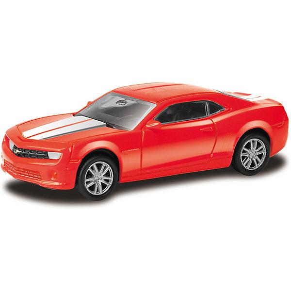 Модель автомобиля Uni-Fortune Chevrolet Camaro, 1:64, краснаяЛегковые машинки<br>Характеристики:<br><br>• тип товара: машинка<br>• материал: металл<br>• масштаб: 1:64<br>• страна бренда: Китай<br> <br>Модель качественной сборки максимально приближена к настоящей. Она имеет яркий дизайн. Резиновые колеса обеспечивают хорошую сцепку с любой поверхностью. Машинка сделана из безопасных для детей материалов.