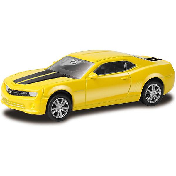 Модель автомобиля Uni-Fortune Chevrolet Camaro, 1:64, желтая, Желтый