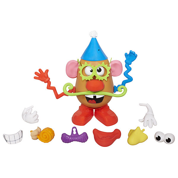 Hasbro Игровой набор Playskool Отвязная Картофельная голова Мистер Картошка hasbro игровой набор trolls город троллей диджей баг