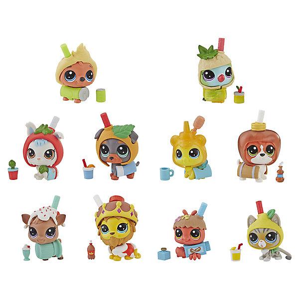 Купить Игровая фигурка Littlest Pet Shop Пет в напитке , в закрытой упаковке, Hasbro, Китай, Женский