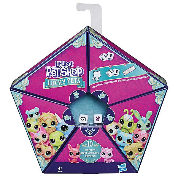 Фото - Hasbro Игровой набор Littlest Pet Shop Мультипак Петы с предсказанием hasbro littlest pet shop e5148 литлс пет шоп игровой набор букетный набор петов
