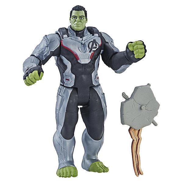 Hasbro Игровая фигурка Avengers Делюкс Халк, 15 см