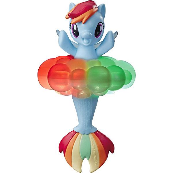 Купить Игровая фигурка My little Pony Морская коллекция Рэйнбоу Дэш, 11 см, Hasbro, Китай, Женский