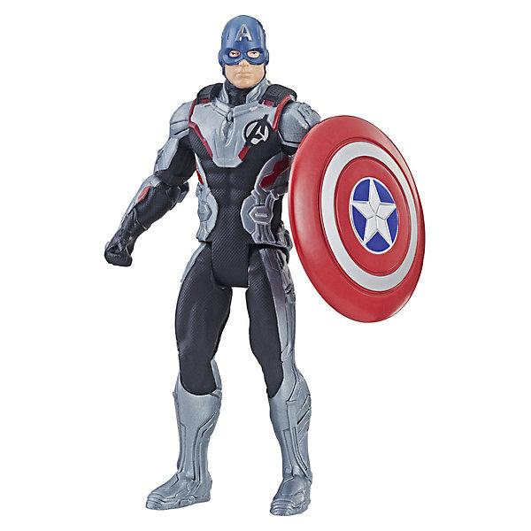 Hasbro Игровая фигурка Avengers Капитан Америка, 15 см