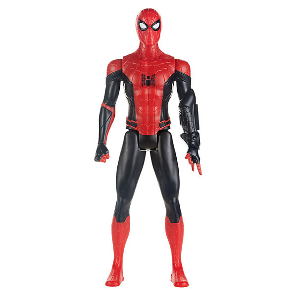 Фото - Hasbro Игровая фигурка Spider-Man Герои Титана Чандлер, 29,2 см hasbro игровая фигурка spider man хобгоблин сакс