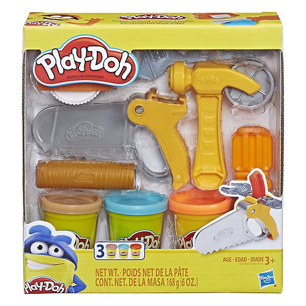 Купить Игровой набор Play-Doh Строительные инструменты , Hasbro, Китай, Мужской