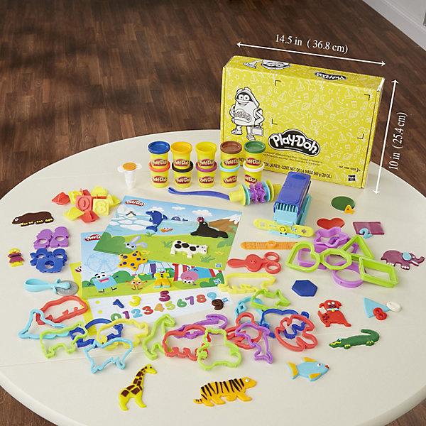 Hasbro Игровой набор Play-Doh Дошкольный набор hasbro тематический игровой набор play doh животные