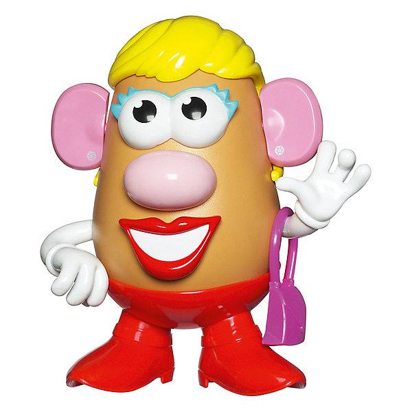 Фото - Hasbro Игровой набор Playskool Potato Head Классический Миссис Картофельная голова, 18,4 см коробка рыжий кот 33х20х13см 8 5л д хранения обуви пластик с крышкой