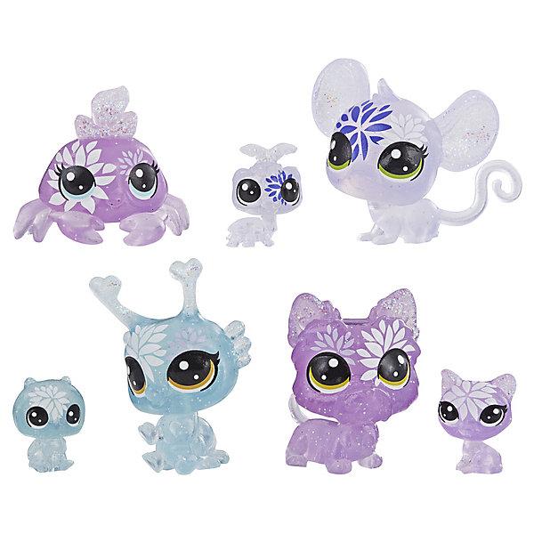 Купить Набор фигурок Littlest Pet Shop Цветочные петы Гортензия, 7 шт, Hasbro, Китай, Женский