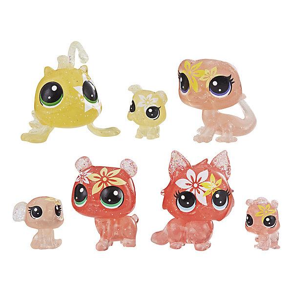 Hasbro Набор фигурок Littlest Pet Shop Цветочные петы Лилия, 7 шт набор цветных карандашей 6 шт littlest pet shop littlest pet shop 6 шт