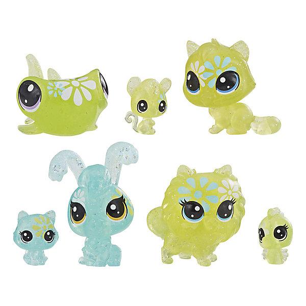 Фото - Hasbro Набор фигурок Littlest Pet Shop Цветочные петы Дейзи, 7 шт hasbro littlest pet shop e5148 литлс пет шоп игровой набор букетный набор петов
