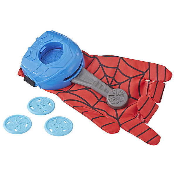 Hasbro Игровой набор Spider-Man, Перчатка Человека-Паука с дисками