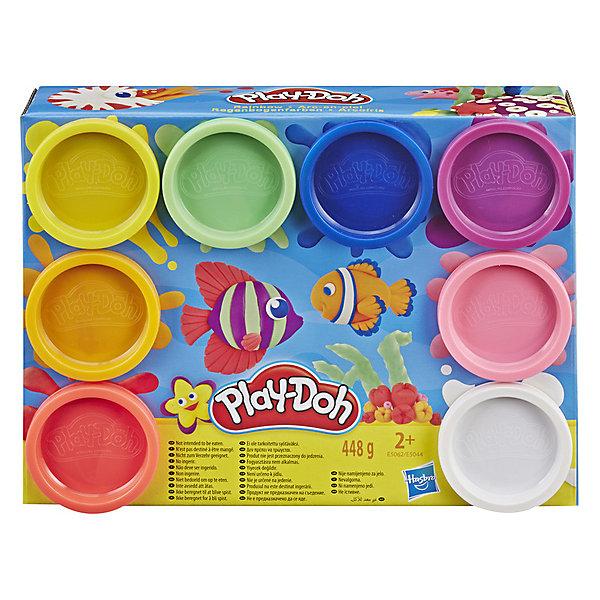 Фото - Hasbro Набор пластилина Play-Doh Радуга, 8 цветов коробка рыжий кот 33х20х13см 8 5л д хранения обуви пластик с крышкой
