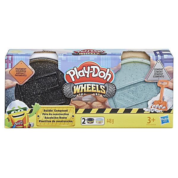 Hasbro Игровой набор Play-Doh Колёса Тротуар и цемент набор для рисования play doh необычное яйцо cpdo062