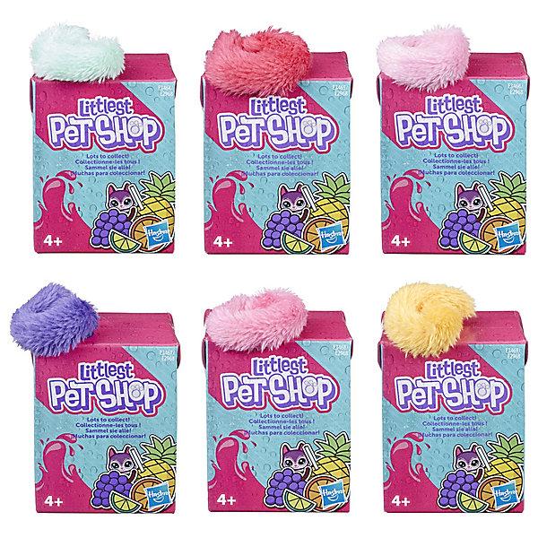 Купить Мягкая игрушка Littlest Pet Shop Пет в коктейле , в закрытой упаковке, Hasbro, Вьетнам, Женский
