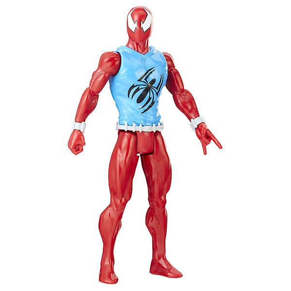 Hasbro Фигурка Spider-Man Power Pack Титаны Алый Человек-Паук, 30 см