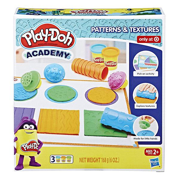 цена на Hasbro Игровой набор Play-Doh Academy Инструменты и текстуры