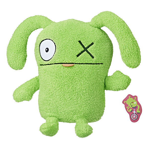 Hasbro Мягкая игрушка Ugly Dolls Окс передаёт привет, 11 см игрушка