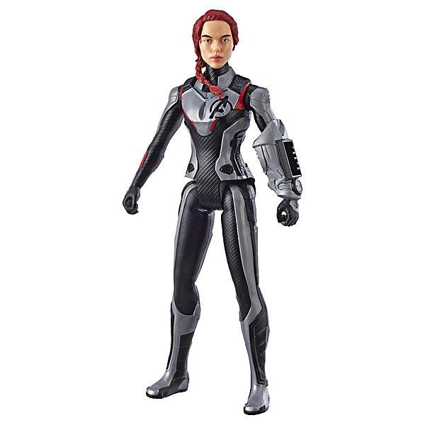 Купить Игровая фигурка Avengers Титаны Чёрная Вдова, 30 см, Hasbro, Китай, Мужской