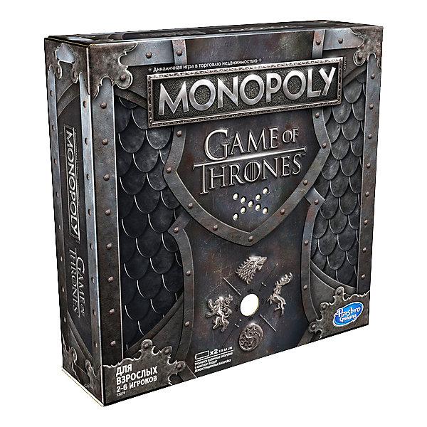 Hasbro Настольная игра Gaming Монополия Игра Престолов